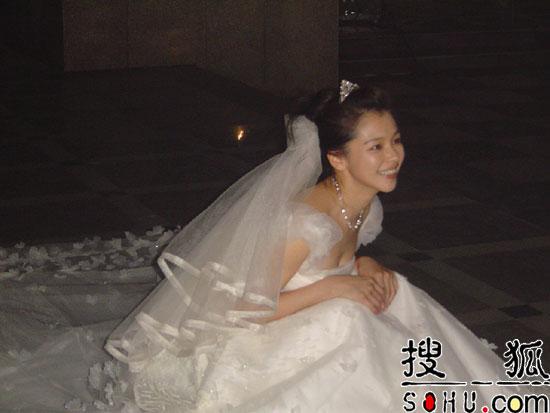 徐若瑄婚纱图 - 水无痕 - 明星后花园