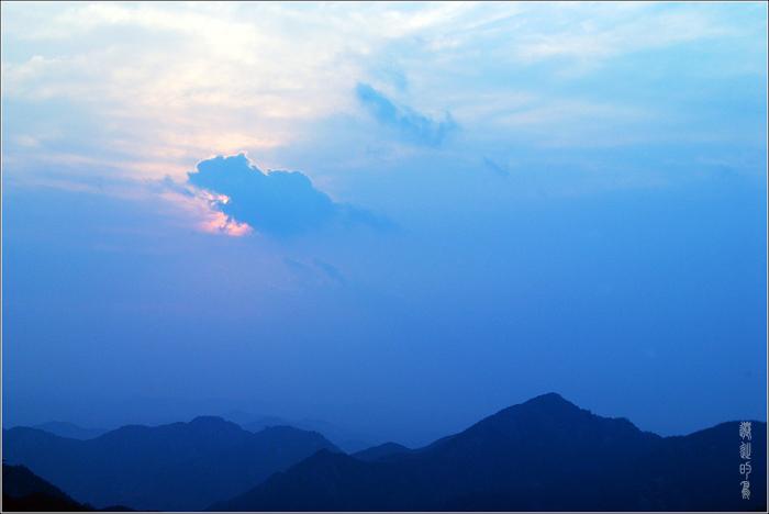 [原创]崂山——落日余辉 - 迁徙的鸟 - 迁徙鸟儿的湿地