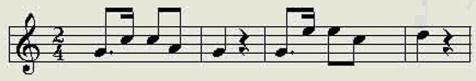 【线谱】《乐理基础知识》第五章 节奏、节拍、拍子、小节 - 星空间 - .