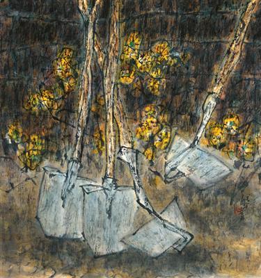 画家道白(17) - 苏文 - 中国当代美术家——路中汉
