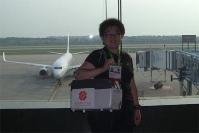 [感想]2009年5月29日南京送造血干细胞 - 北京之家 - 北京红十字造干志愿者之家