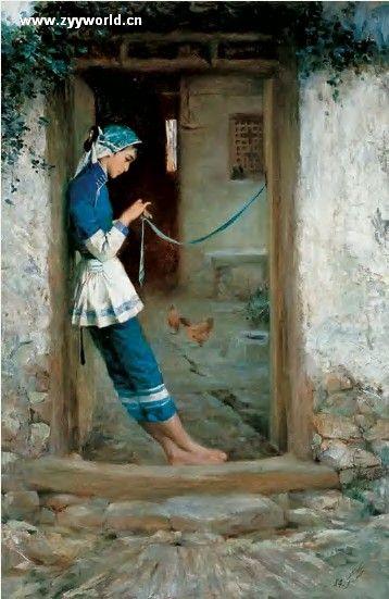 浙江画院名誉院长--潘鸿海 - 油画棒 - 油画棒的博客