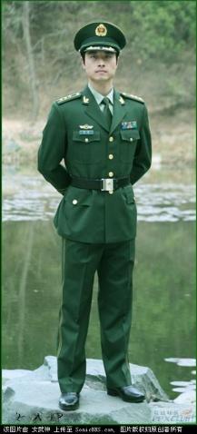 解放军07式军服 解放军军服史上最漂亮的军服 图片