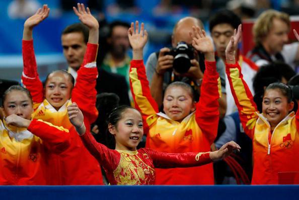 感谢中国女子体操的姑娘门 - 戈壁红柳 - 戈壁红柳的博客