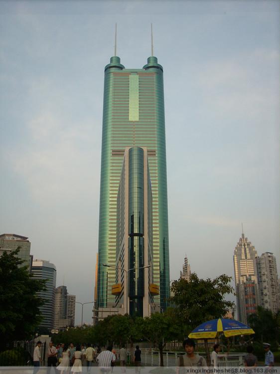 我眼中的深圳现代建筑(图) - 微风山谷 - 微风山谷的博客