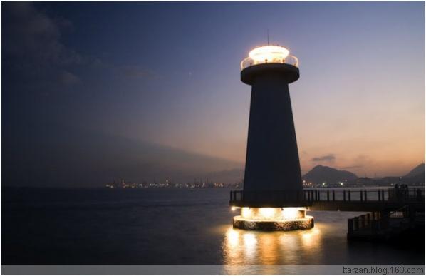 [原]深圳·蛇口·半岛城邦的黄昏时分 - Tarzan - 走过大地