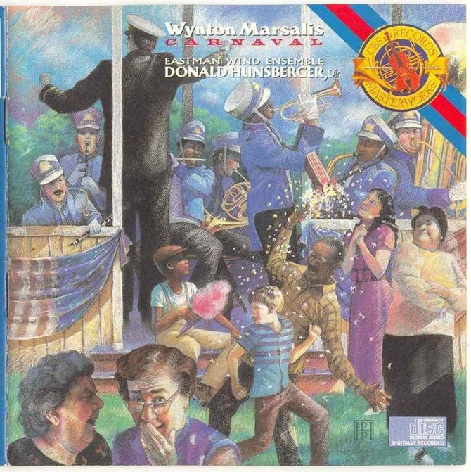 温顿马萨利斯古典专辑《狂欢节》 - kklaodai - kklaodai的博客