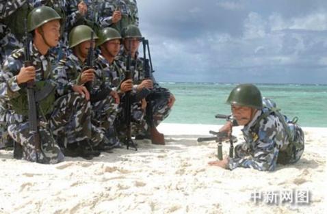 准备打仗--西沙演习,剑指越南 - 汉子 - 汉子的博客