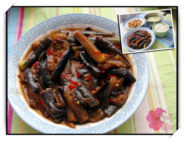 【学做家常菜】鱼香土豆、蚝油绣针菇、鲶鱼炒长的像头顶茄子带点图片