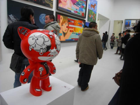 宋洋作品参展林大动漫美学开幕+NIKE科比新鞋发布 - songyangart - 宋洋的漫画世界