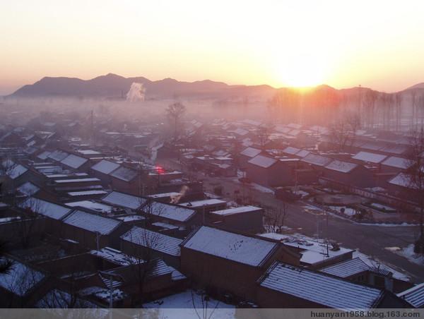 山村的早晨 - 欢颜 - 欢颜的博客