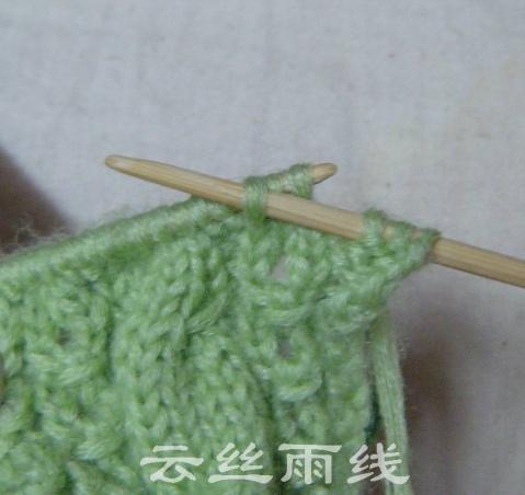 【转载】云丝雨线-----一起织开衫 - 苹果园 - 苹果园