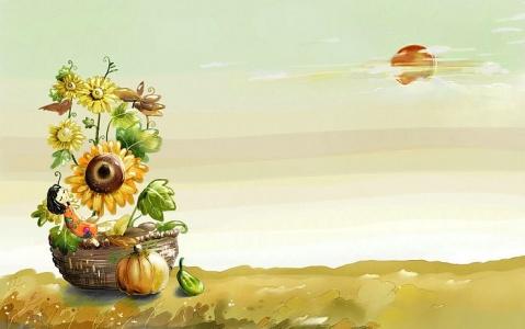 关于秋天的好词和好句 - 落落 - 三(2) 我们的阳光小屋