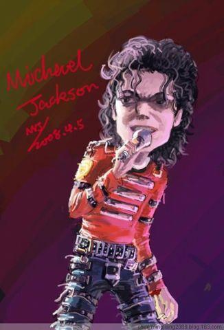 发图庆祝michael jackson的新歌 - 白客二世 - Mingjiang