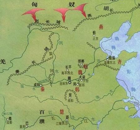 《史记》涉及的历史地图 - 梁箫 -