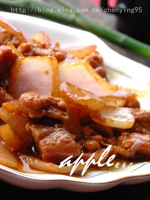 如何成就一道完美的快炒菜:洋葱炒牛肉--牛肉嫩洋葱脆 - 可可西里 - 可可西里