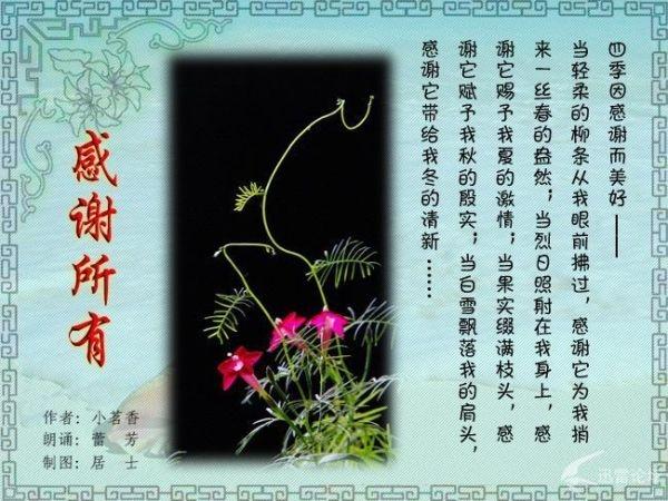 感 谢 生 命 中 每 一 个 人 - 季氏后裔 - 季永斌的博客