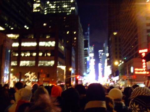 纽约第三日:时代广场 新年倒计时 - 程子 - 程子在这里