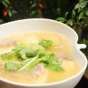 怎样自制咸肉豆腐汤