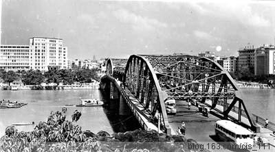 【转载】一组海珠桥历史图片 - 纯情的思念 - 纯情的思念
