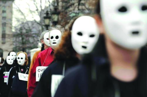 游行与面具 - 刘仰 - 一个人的世界