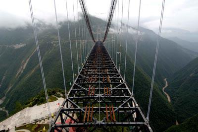 [组图] 谁持银链当空舞——看世界第一高桥 - 路人@行者 - 路人@行者