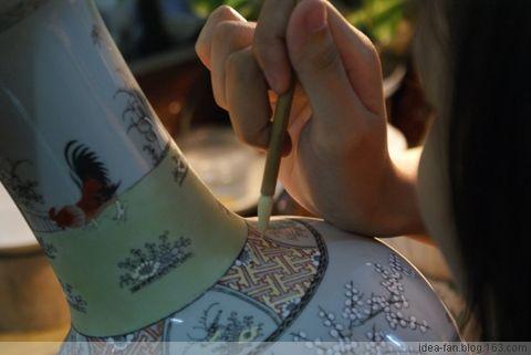 岭南文化-探访广彩陶瓷[图文] - idea-fan - 喂!你是谁?