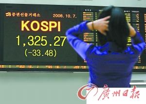 韩日股市上周惨烈暴跌