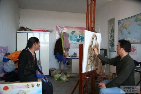 油画名家忻东旺 - 刀客 - 刀客的江湖