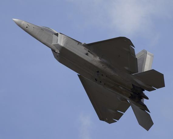 资料图:美国空军F-22A猛禽战机将参加此次美韩军演