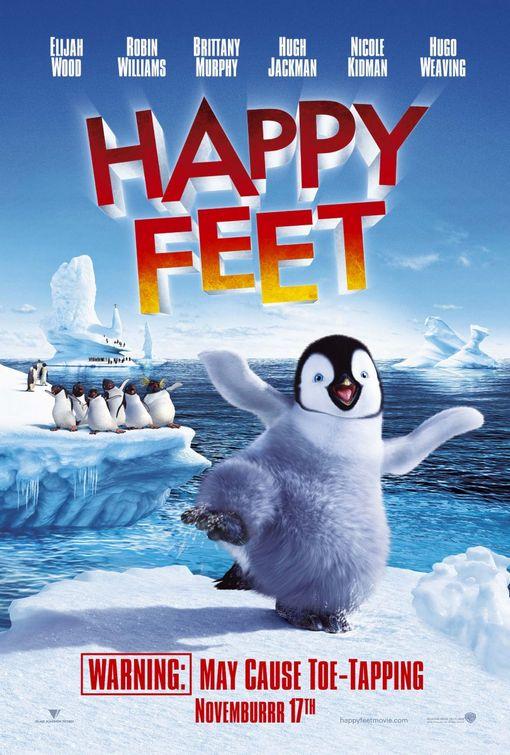 《快乐大脚》Happy Feet 海报