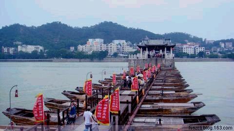 [原创]潮州广济桥图观语 - Kajia - 脚印一点点
