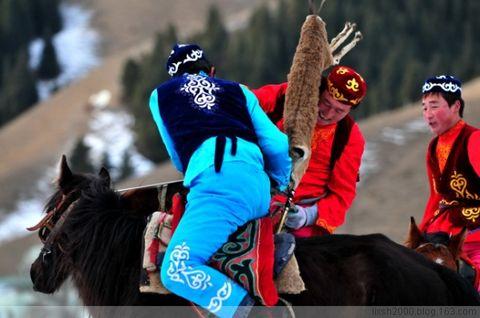 草原上的三大赛事———赛马、叼羊、姑娘追 - 阿凡提 - 阿凡提的新疆生活