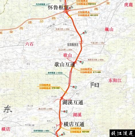 试论诸永高速的最大化利用 - 钱江浪花 - 钱江浪花