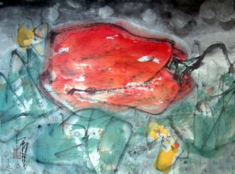 画家道白(10) - 苏文 - 中国当代美术家——路中汉