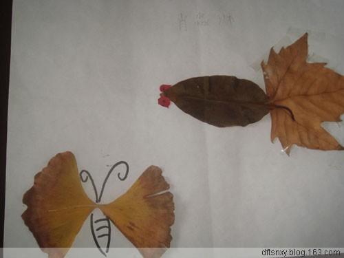 [原创]秋天的树叶画 - 琳儿 - 琳儿叮当