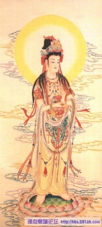 [原创]观世音菩萨图像锦集 ( 二) - 玉牡丹 - .