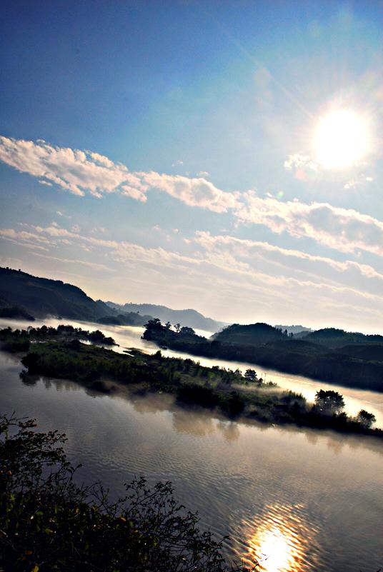 [原创]神仙岛的早晨 - 歪树 - 歪树