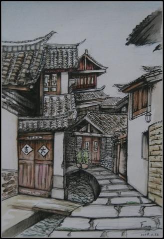 欣赏(9):大自然的盛宴 - 蓝桑的画中话 - 画中话