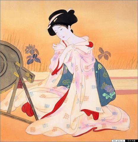 解读日本传统文化 浮世绘极品创作大赏[组图] - 石墨閣藝術長廊 - 石墨閣藝術長廊--雨濃的博客
