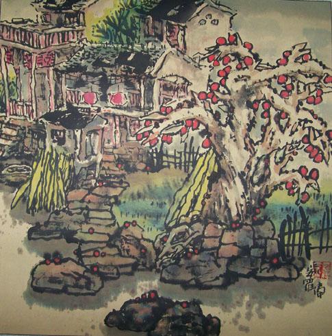 乡村记忆系列(十三)2007/12/20 - 书画家罗伟 - 书画家罗伟的博客