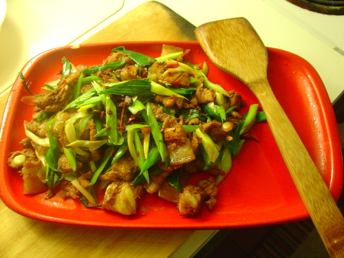 今晚巫家菜:浅色煎马加鱼,波士顿回锅肉 - 巫昂 - 巫昂智慧所