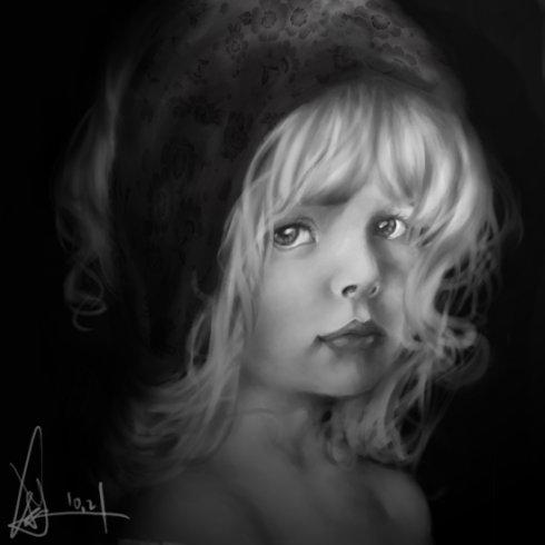 3.《little girl》 - 啊刹 - My Comic..Up ↗