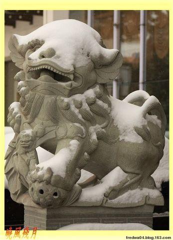 城市雪景-淮安 - 曉風殘月 - 曉風殘月