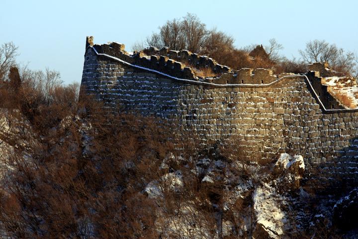 (原创摄影)箭扣长城冬日之三 - 刘炜大老虎 - liuwei77997的博客