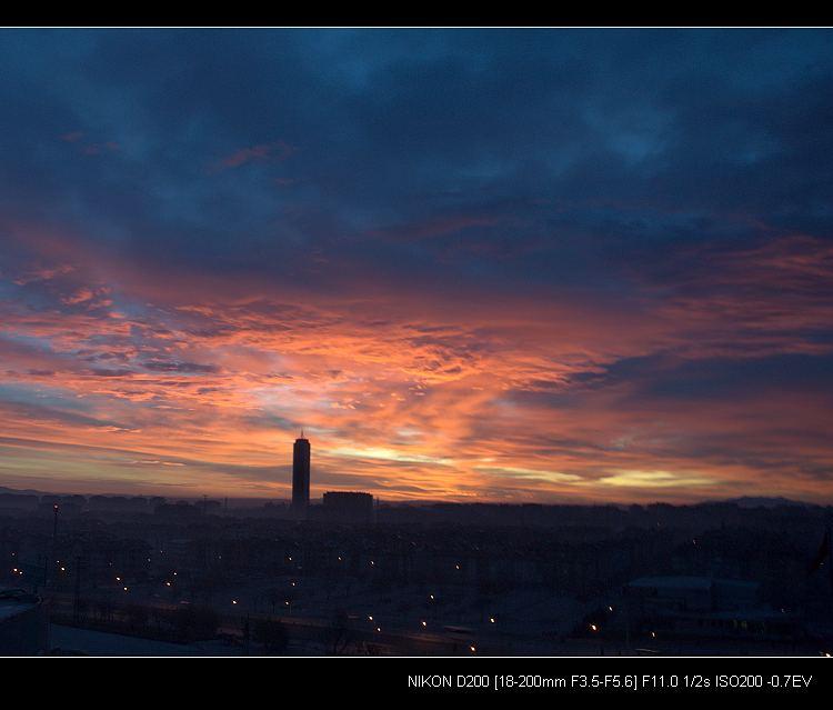 清晨的孔亚和雪山 - 西樱 - 走马观景