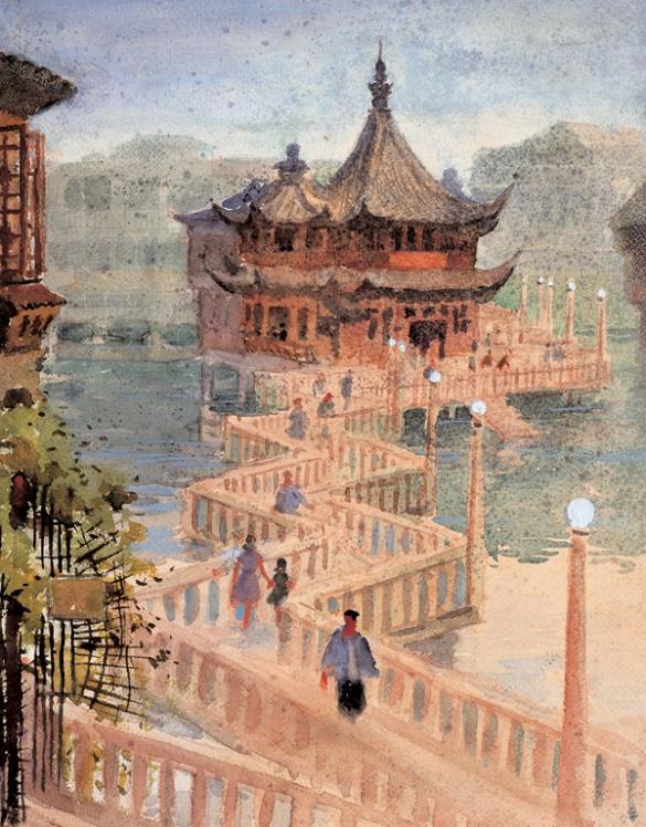【转载】中国百年水彩选(一) - sdjnwzg - WZG的博客