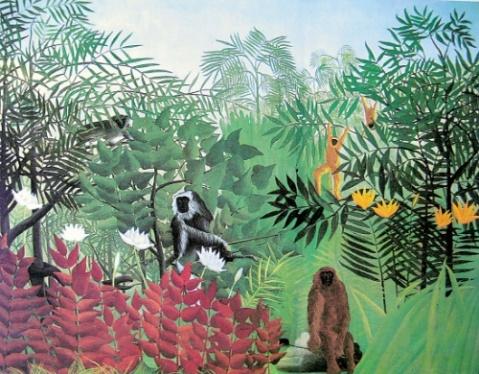 美善心灵的亨利·卢梭 - 天高.我翔 - 艺术世界