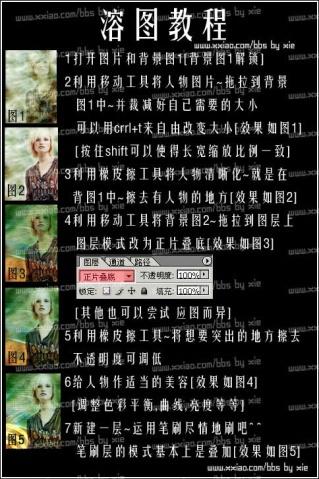 PS融图实例教程 - Q仔 - Q仔*网易博客