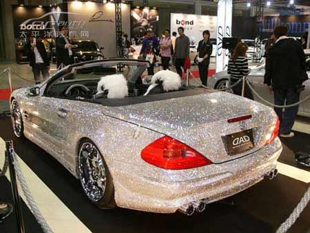 引用 全身嵌满钻石的奢华奔驰SL-Class - ㄣMě麥兜,. - ◇~.瀦圈.